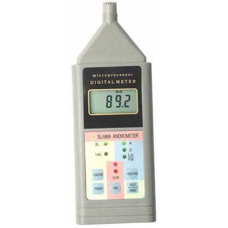Sonomètre Décibel mètre SL 5868