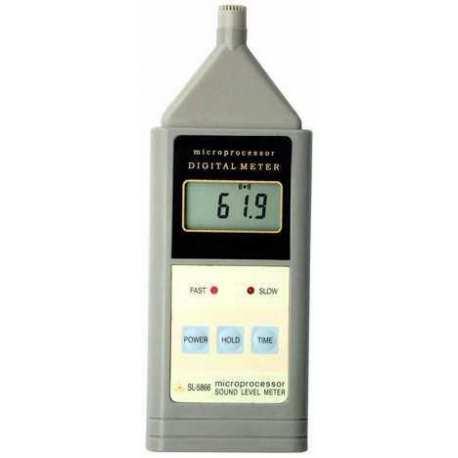 Sonomètre Décibel mètre SL 5866