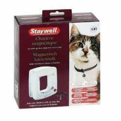Staywell porte pour chat Magnétique