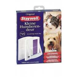 Staywell porte pour chat / chien 715 chatière Blanc