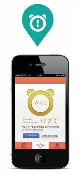 alerte seuil de température dépassé